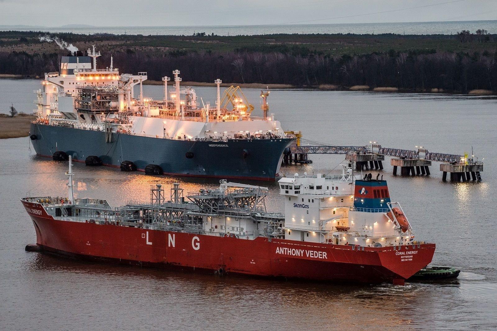 В Клайпеду доставлен новый крупный груз СПГ