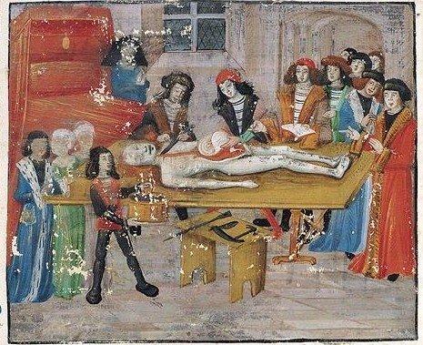 Skrodimas viduramžiais