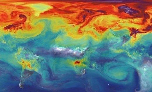 ВМО содержание CO2 в атмосфере достигло критического уровня