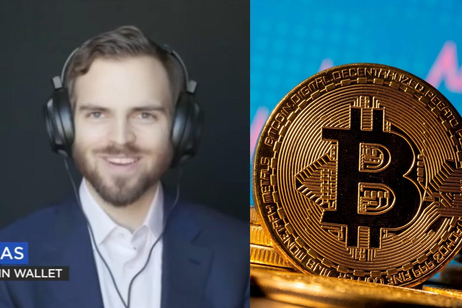 viduje vyrų bitcoin