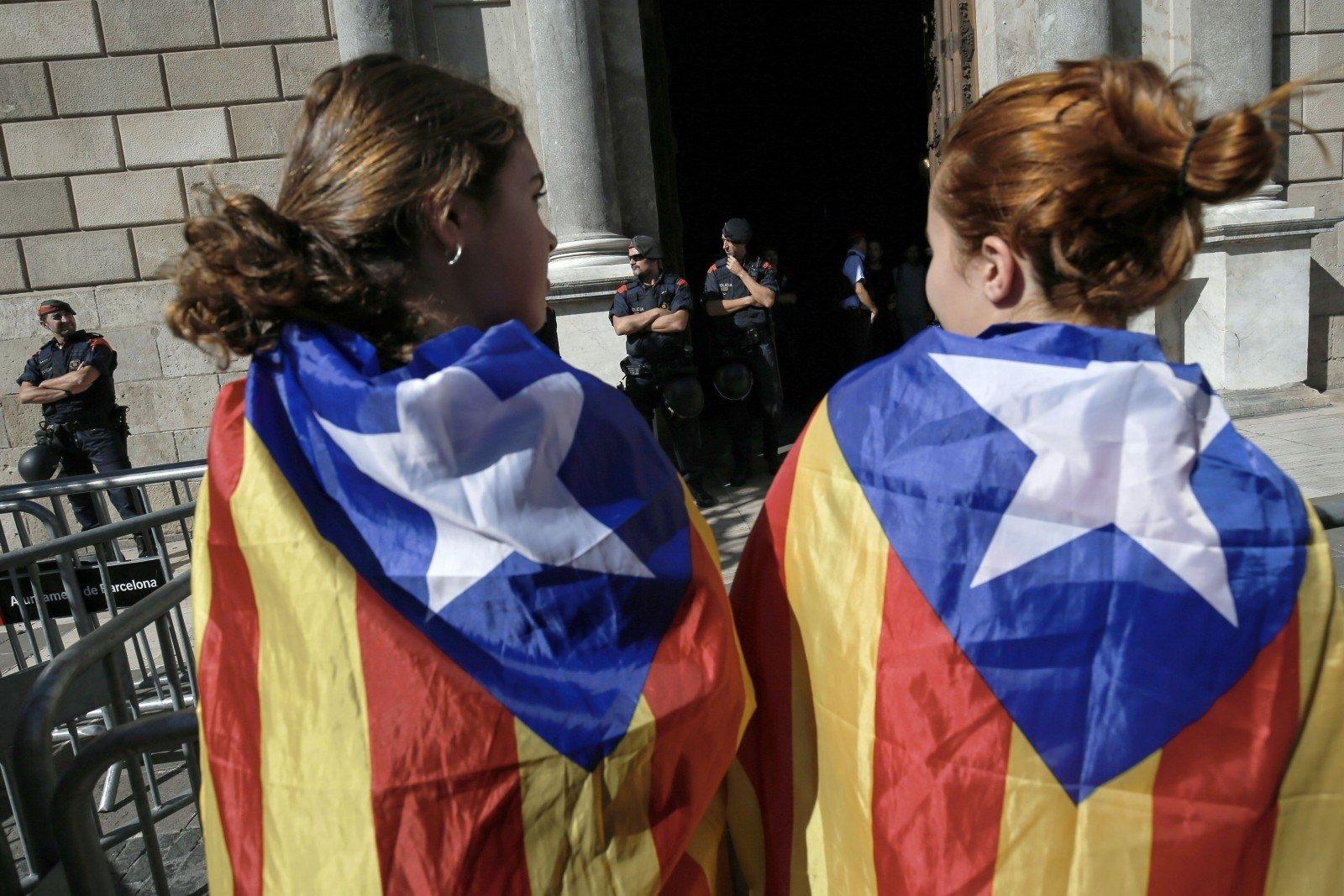 Вовремя протестов вБарселоне пострадали практически 30 человек