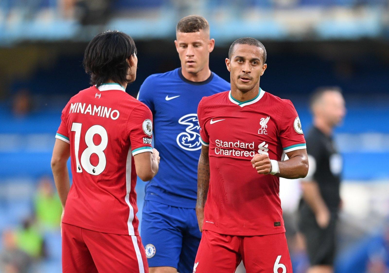 """Chelsea"""" tvirtovėje – """"Liverpool"""" dominavimas ir fantastiškas Thiago  debiutas - DELFI Sportas"""