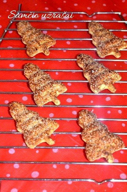 Šventiniai sausainiai per 15 minučių