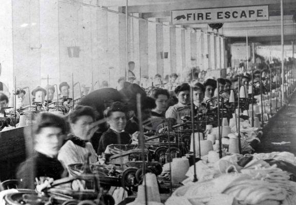 """Triangle Shirtwaist Factory"" gaisras"