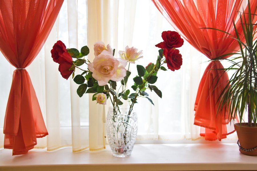 4 1 слово цветы шторы