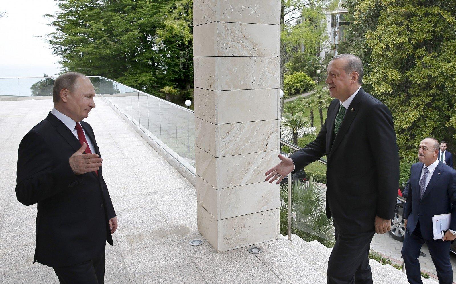 Турция раскрыла повестку майской встречи Эрдогана и Владимира Путина
