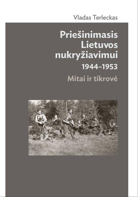 V. Terlecko knygos viršelis