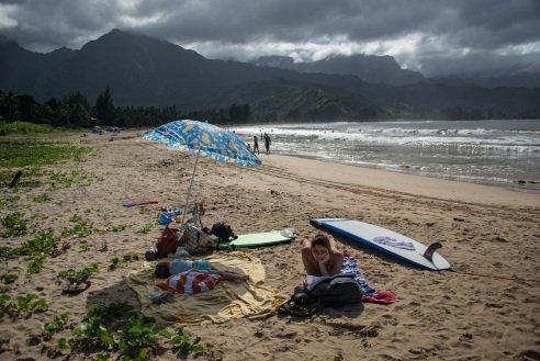"""""""Vandenyno artumo ir jo teikiamų malonumų tikrai pasiilgsiu"""" (Kauai, Havajai)"""