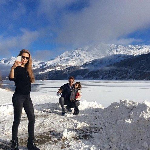 Виктория Боня показала, как отдыхает с семьёй