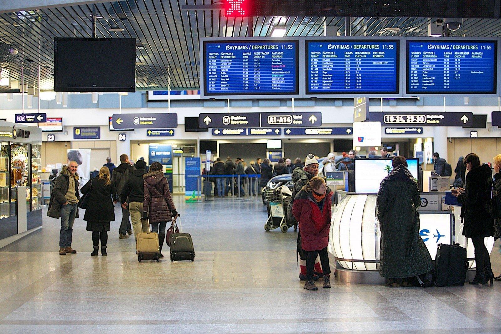 Аэропорты в литве