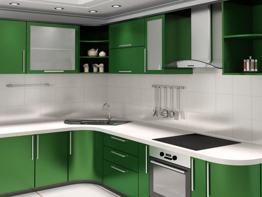Mažos virtuvės įrengimas