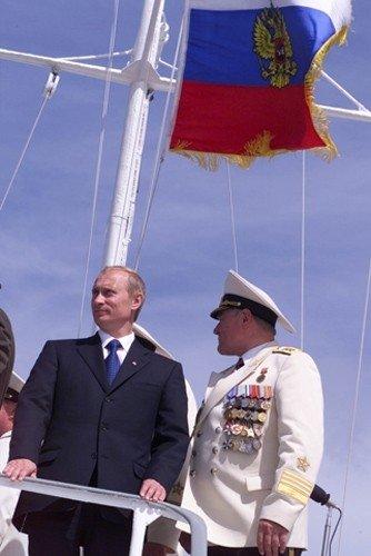 Vladimiras Putinas ir Vladimiras Jegorovas
