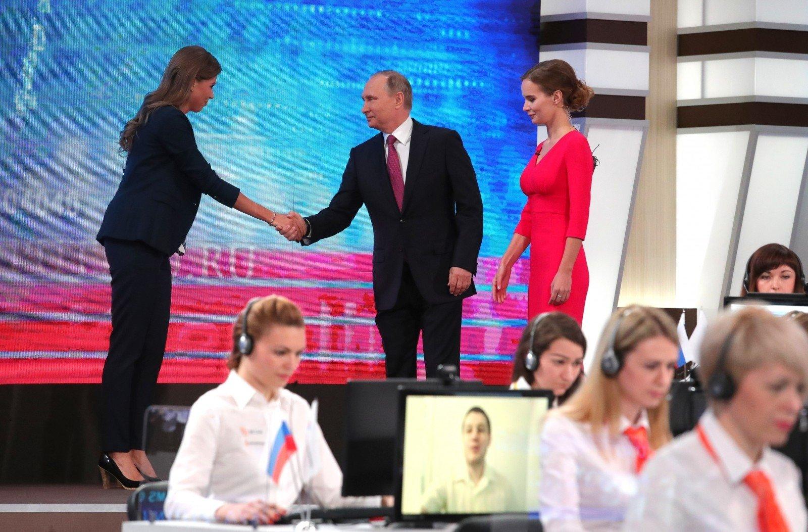 Путин связал протестные акции вгосударстве ссаморекламой