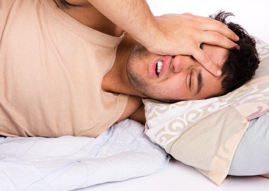 hipertenzija sukelia mieguistumą