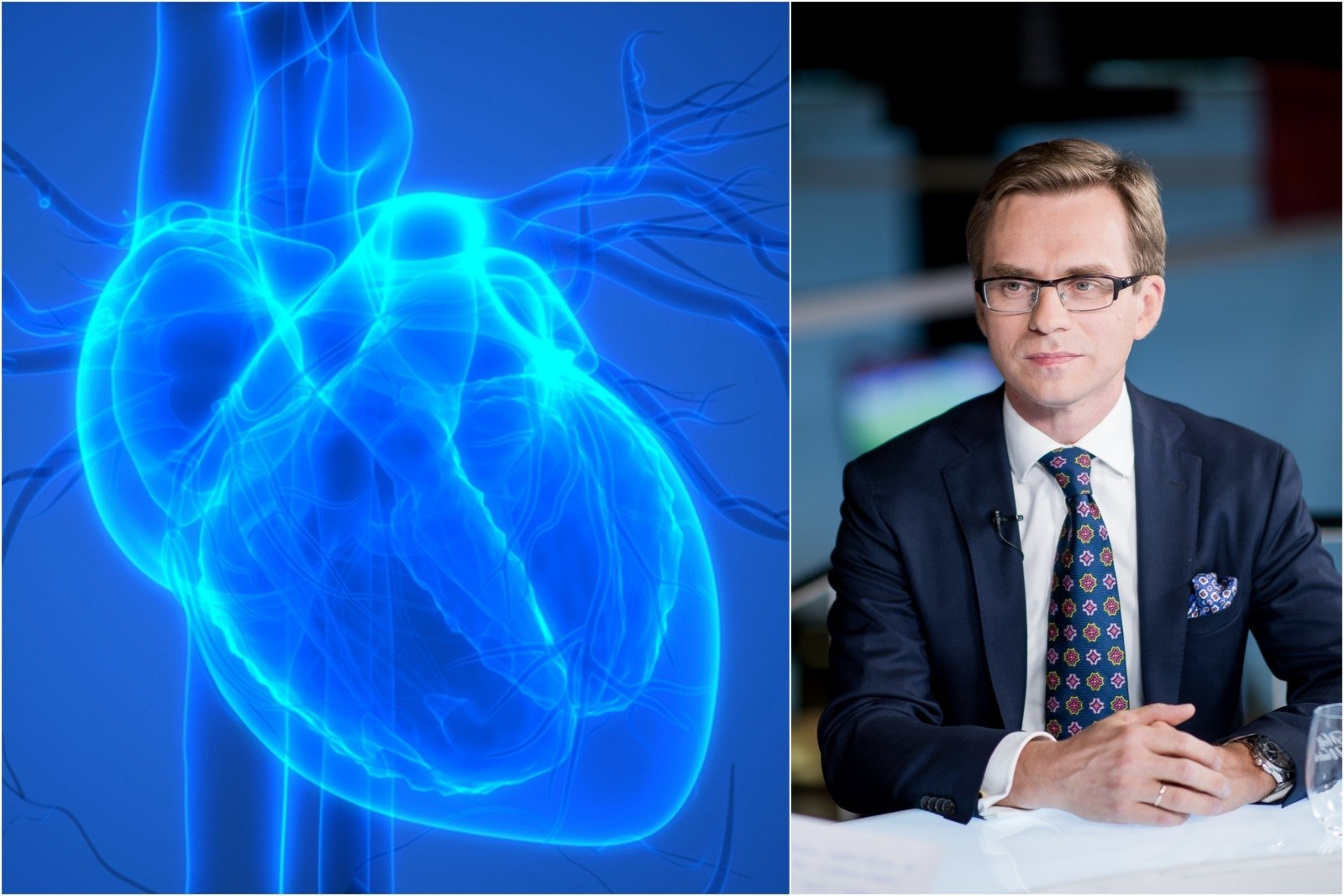 hipertenzijos analizės