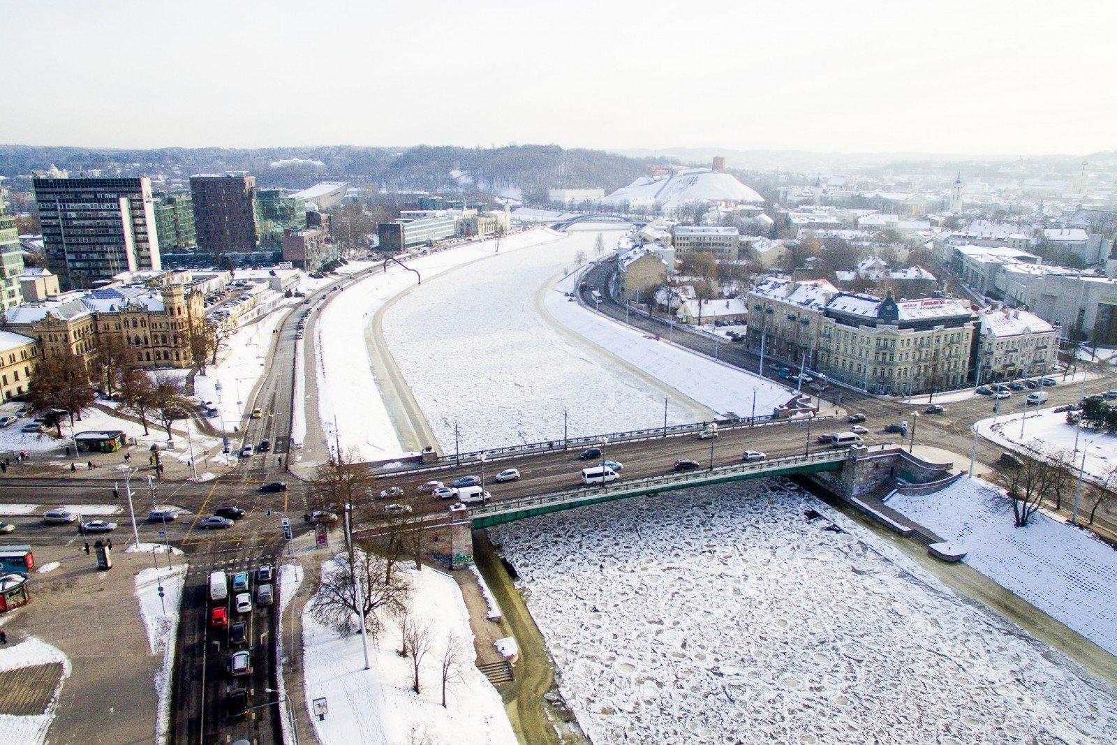 Скульптуры сЗеленого моста вВильнюсе думают передать музею