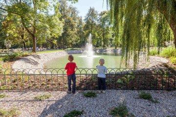<span>Bernardinų sodo (Sereikiškių parko) sutvarkymas</span>Projekto vykdytojas: Vilniaus miesto savivaldybės administracija